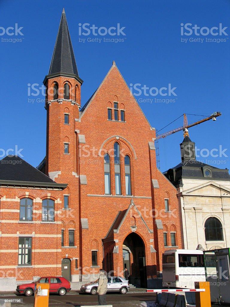 Convent Van Maerlant royalty-free stock photo