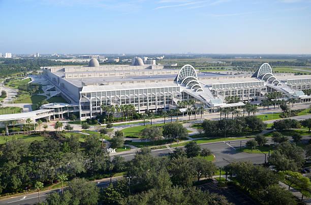 Convention center in Orange County, Orlando stock photo