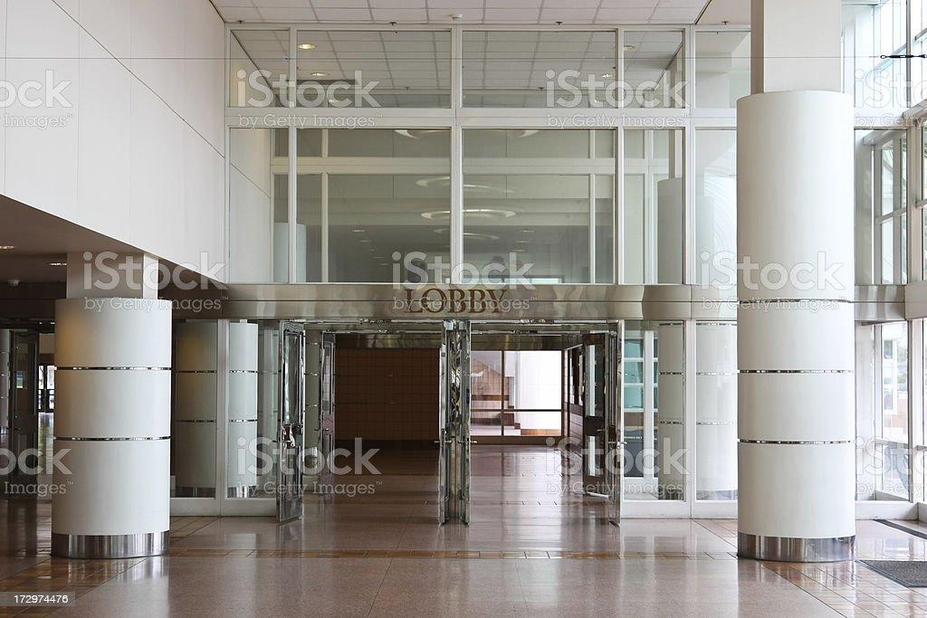 Convention center stock photo