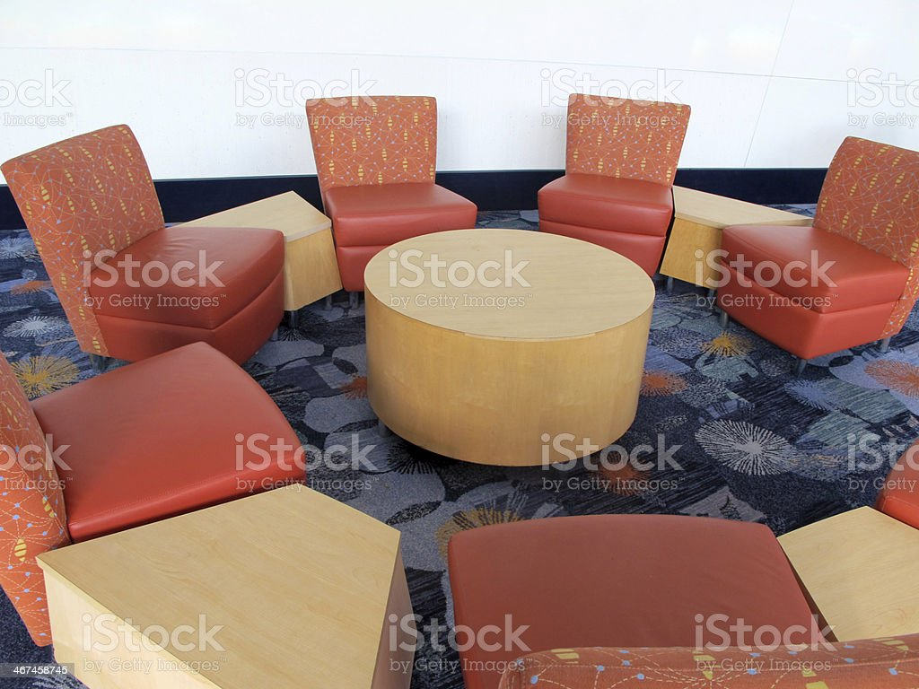 Convention Center Seating stock photo