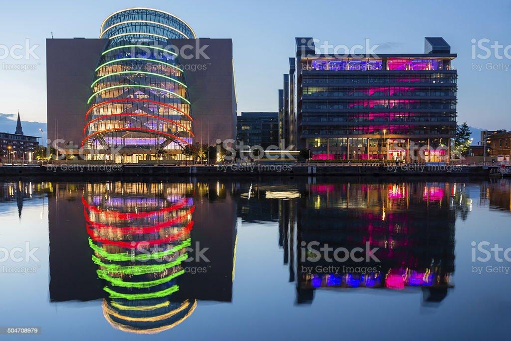 Convention Centre Dublin stock photo
