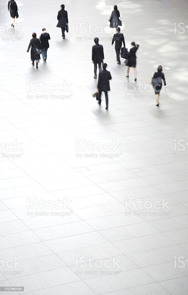 Convention centre trek royalty-free stock photo