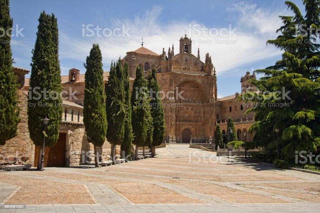 Convento de las Duenas in Salamanca, Spain stock photo
