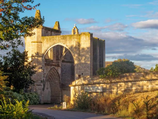 Convento de San Anton - Castrojeriz stock photo