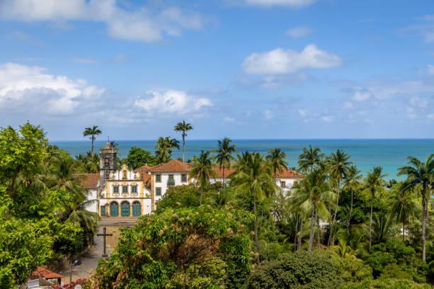 convento de são francisco (saint francis convento) - olinda, perbambuco, brasil - recife e olinda - fotografias e filmes do acervo