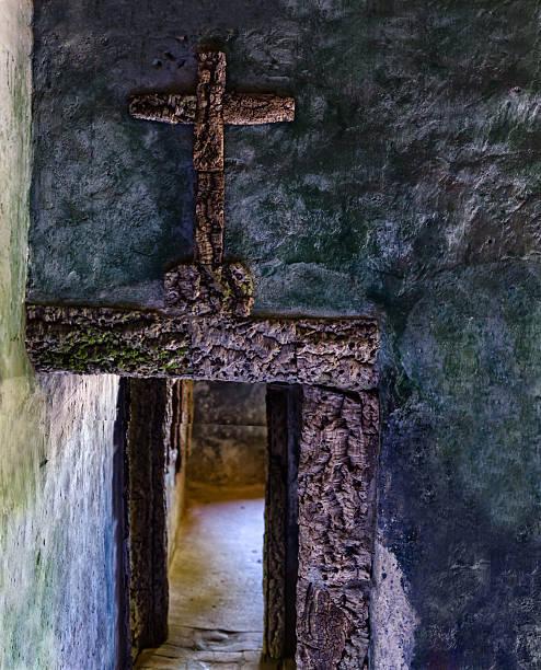 Convento dos Capuchos stock photo