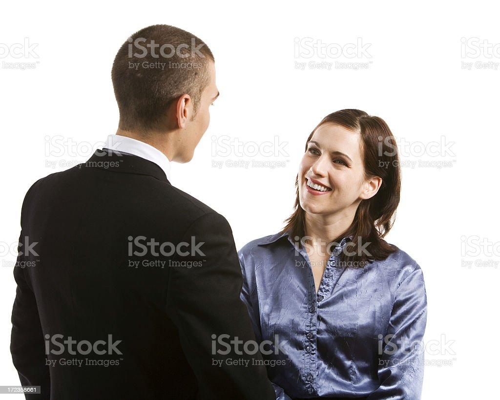 Conversation royalty-free stock photo
