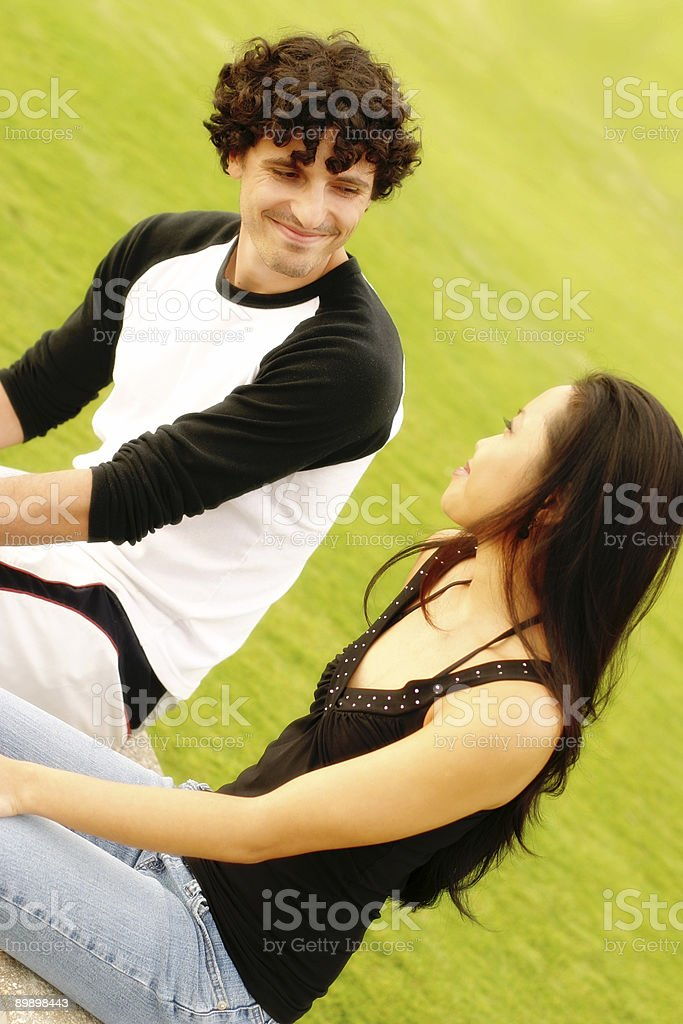 Conversation royalty free stockfoto
