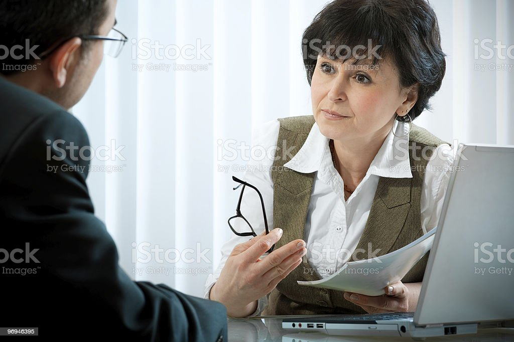 conversation royalty-free stock photo