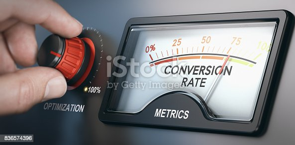 istock Conversion Rate Optimization Tool 836574396