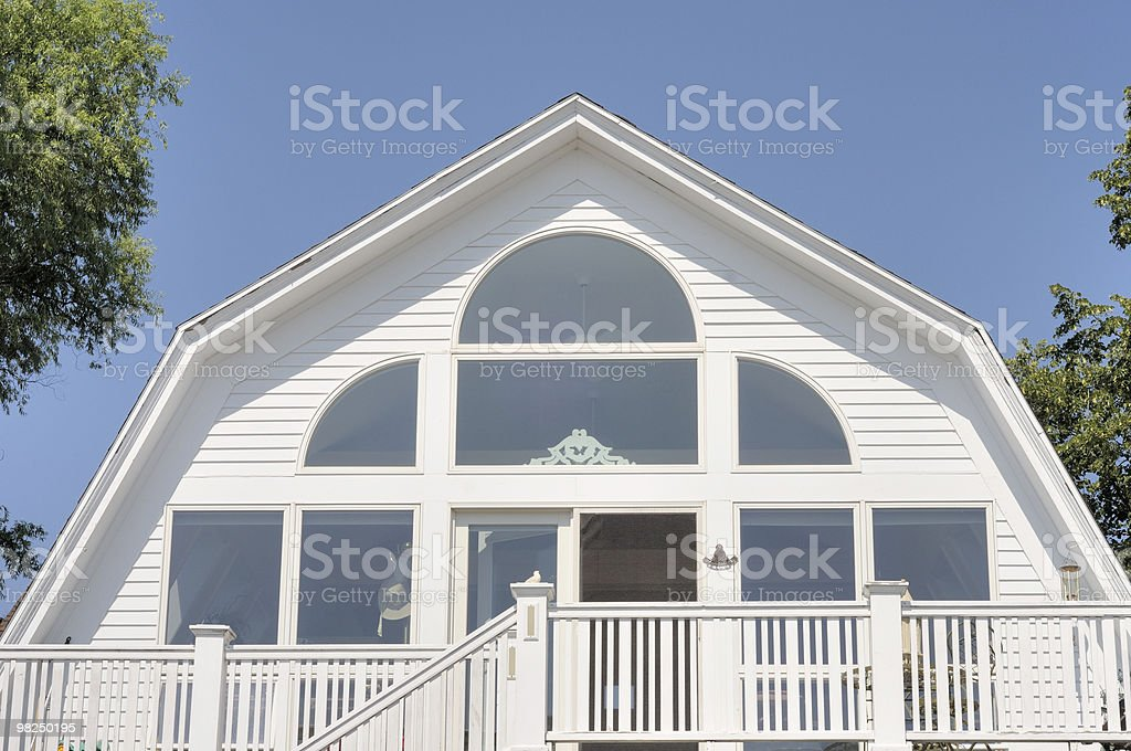 Converted Barn stock photo