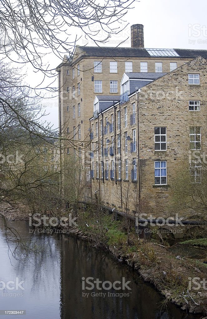 Converted mill stock photo