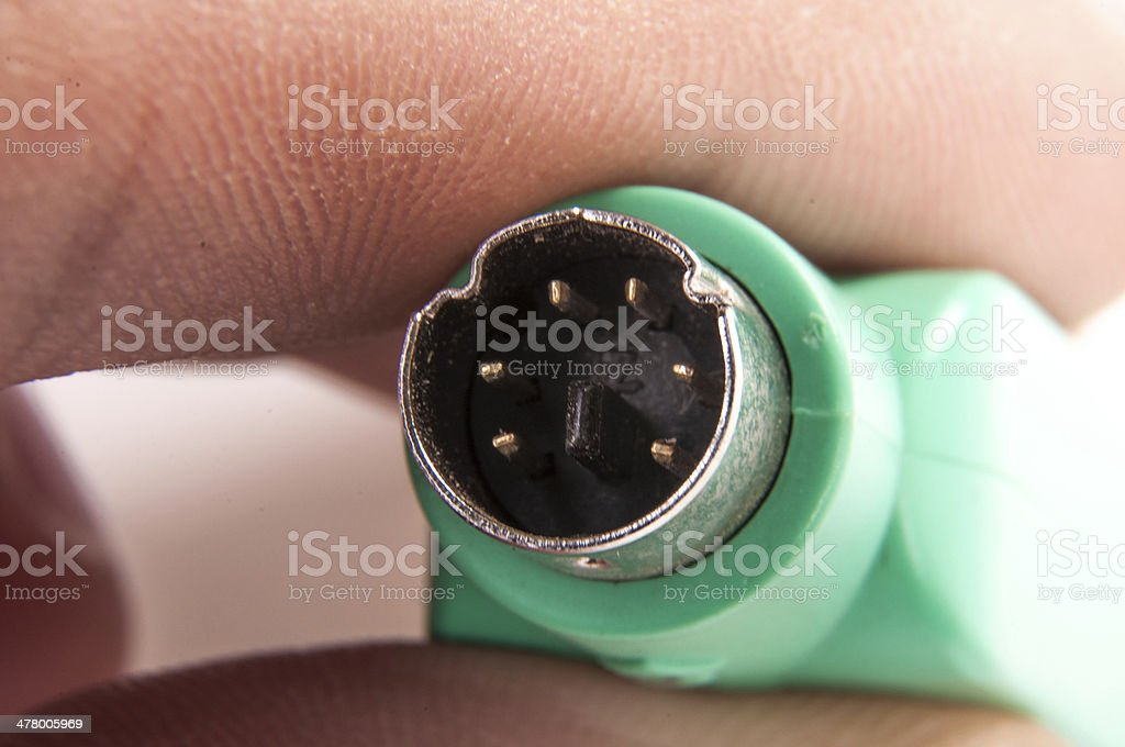 USB PS 2 Converter royalty-free stock photo