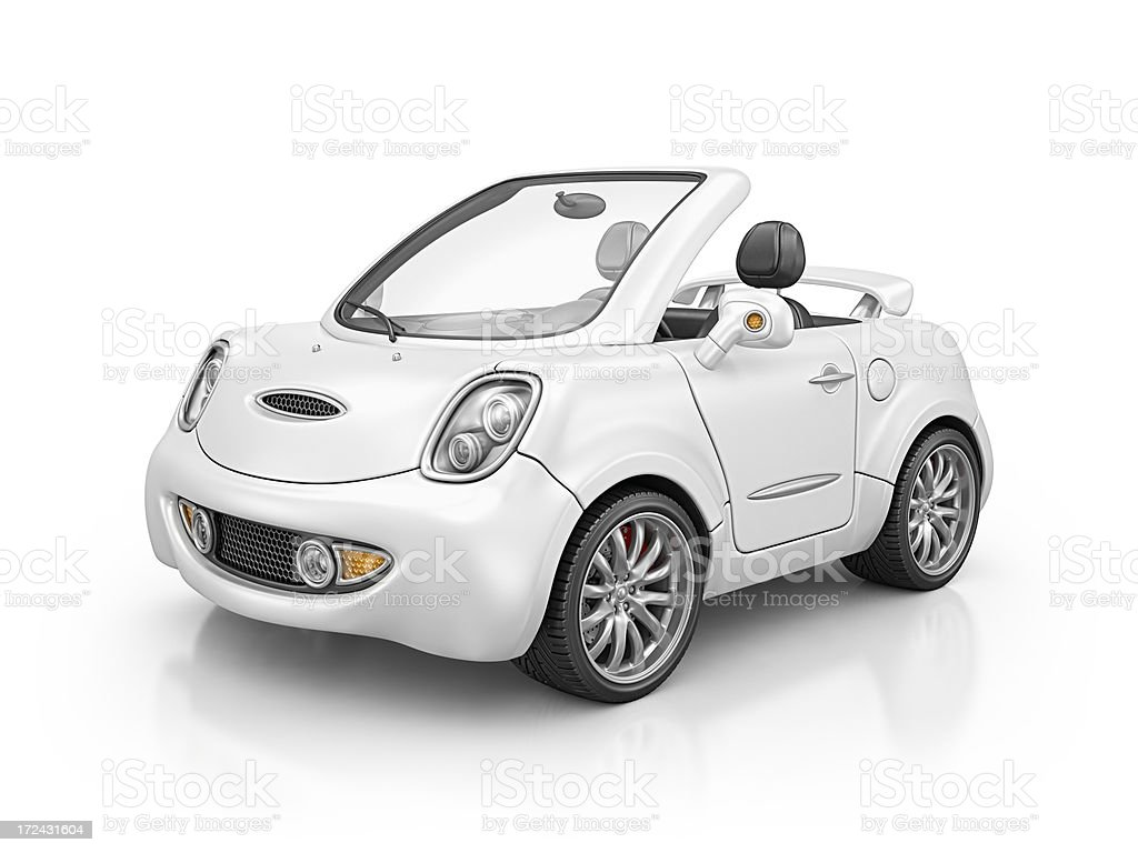cabrio car stock photo