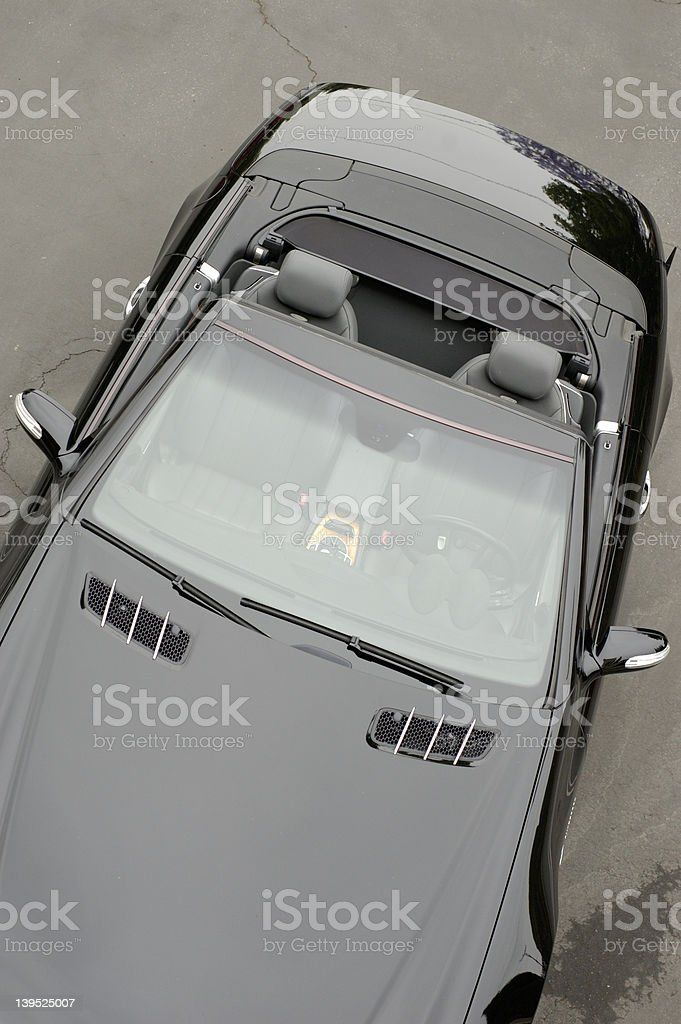 Cabriolet coupe stock photo