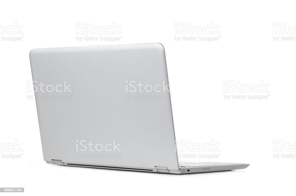 Convertible laptop computer stock photo