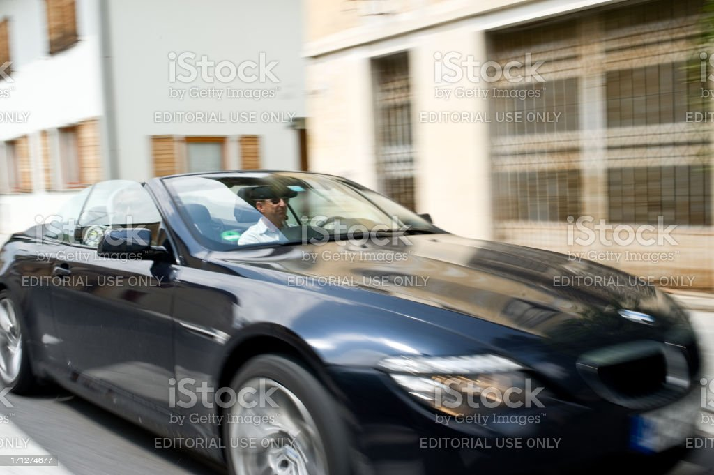 BMW 630 Convertible royalty-free stock photo