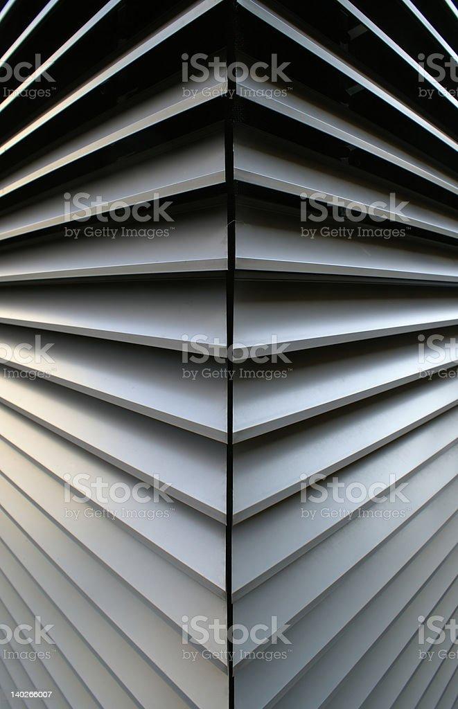 Convex abstract shape royalty-free stock photo