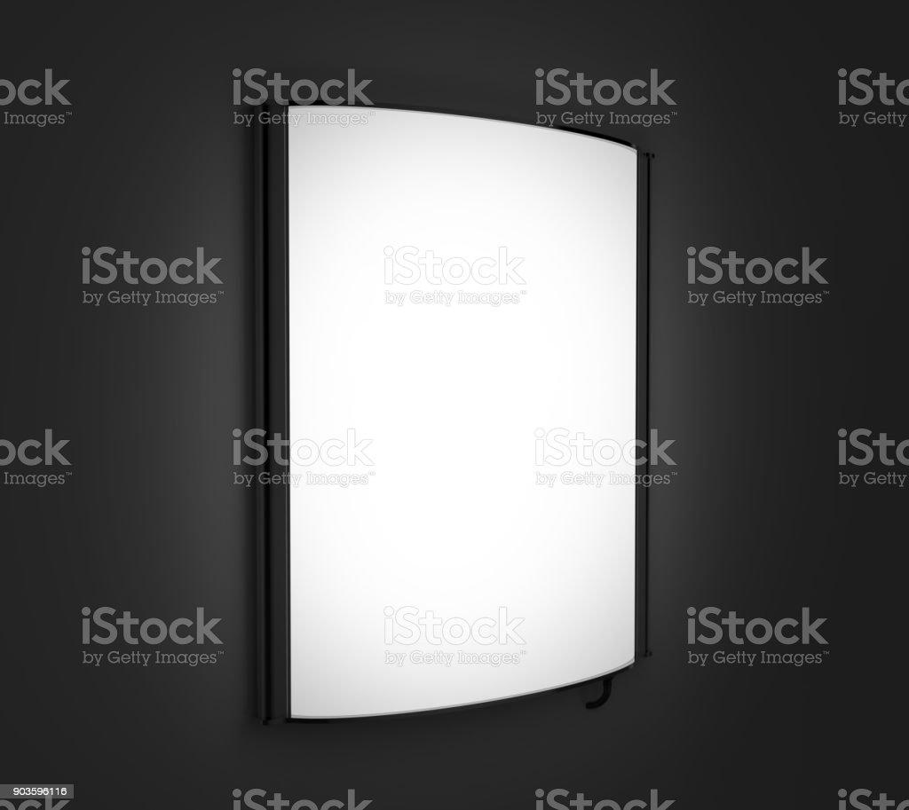 Konvexe Led Leuchtkasten Einseitig Plakat Display Oder Schild Halter ...