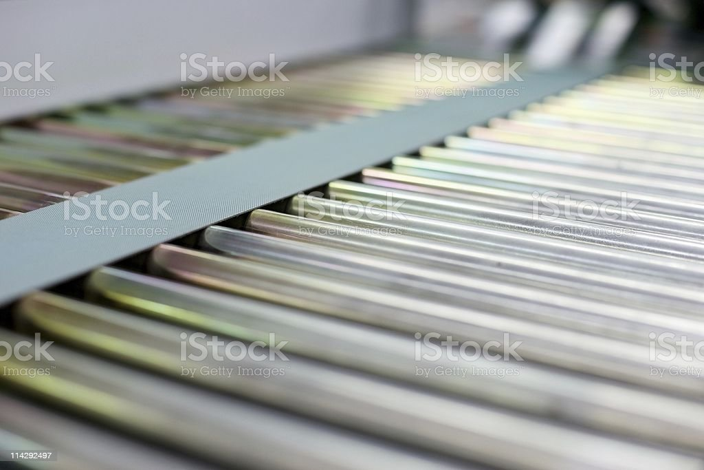 Conveyor Belt royalty-free stock photo