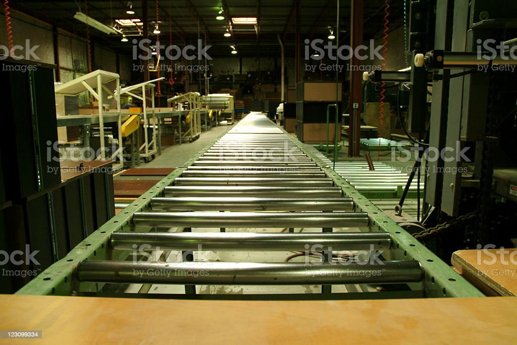 Conveyor Belt stock photo