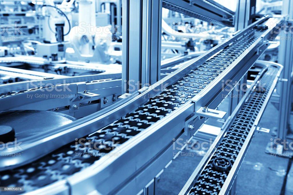 Fließband Lizenzfreies stock-foto