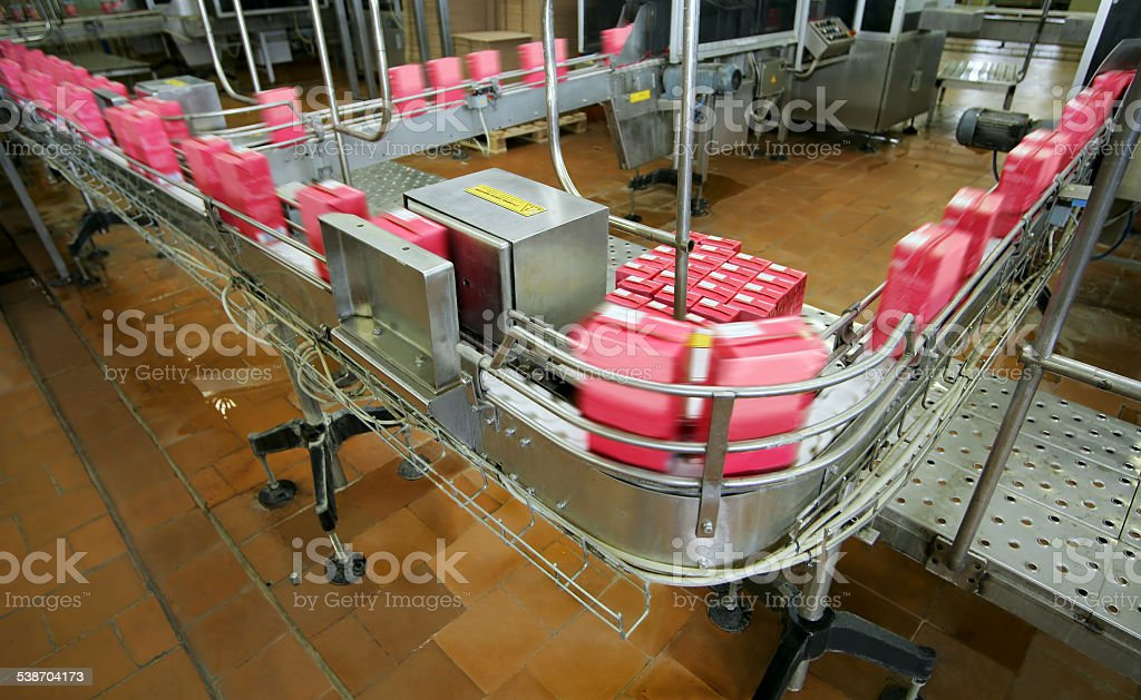 conveyor line stock photo