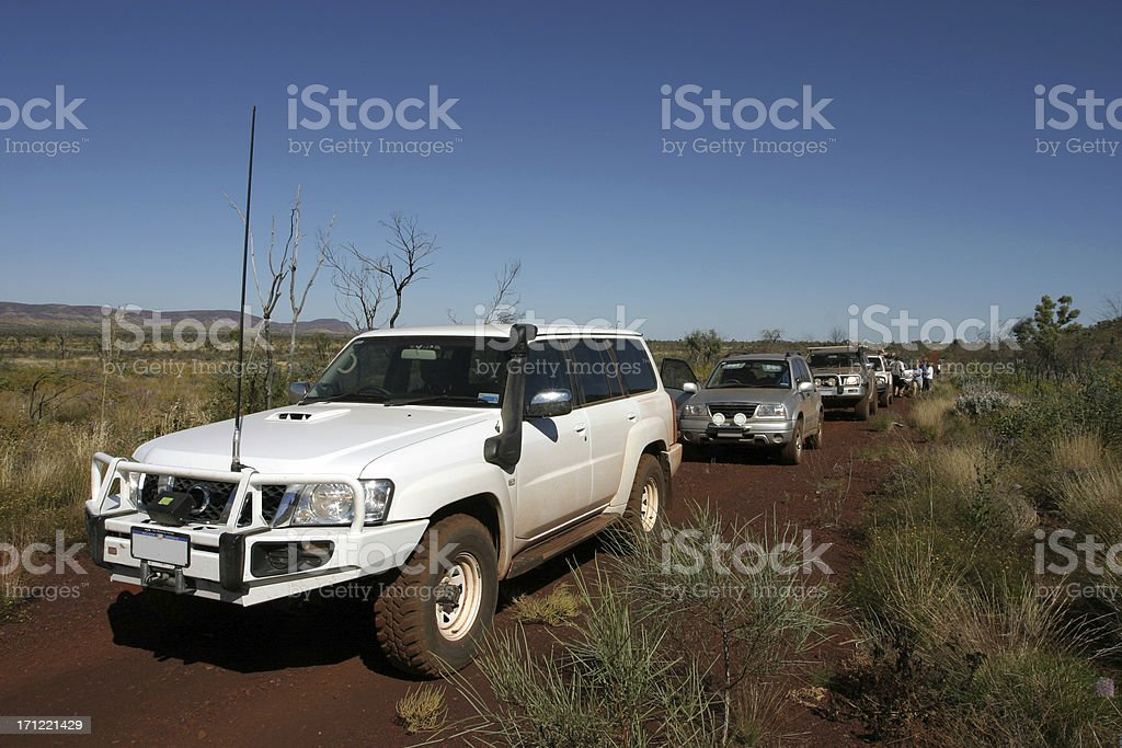 Convoy stock photo