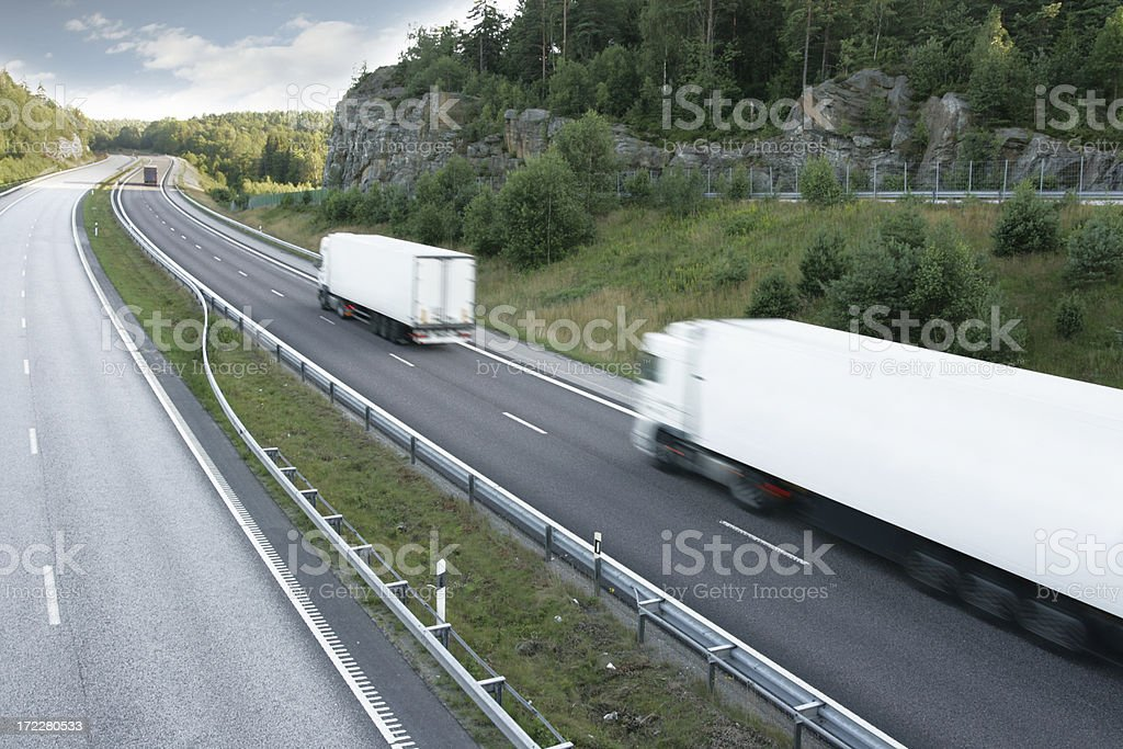 Convoy royalty-free stock photo