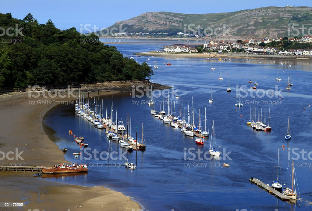 Conwy Bay royalty-free stock photo