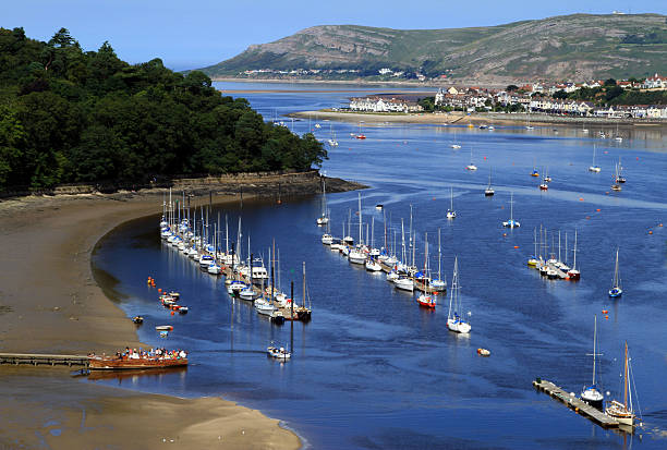Conwy Bay stock photo