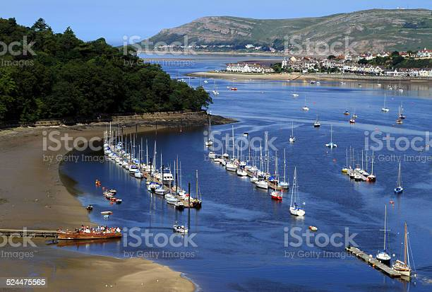 Conwy Bay Stock Photo - Download Image Now