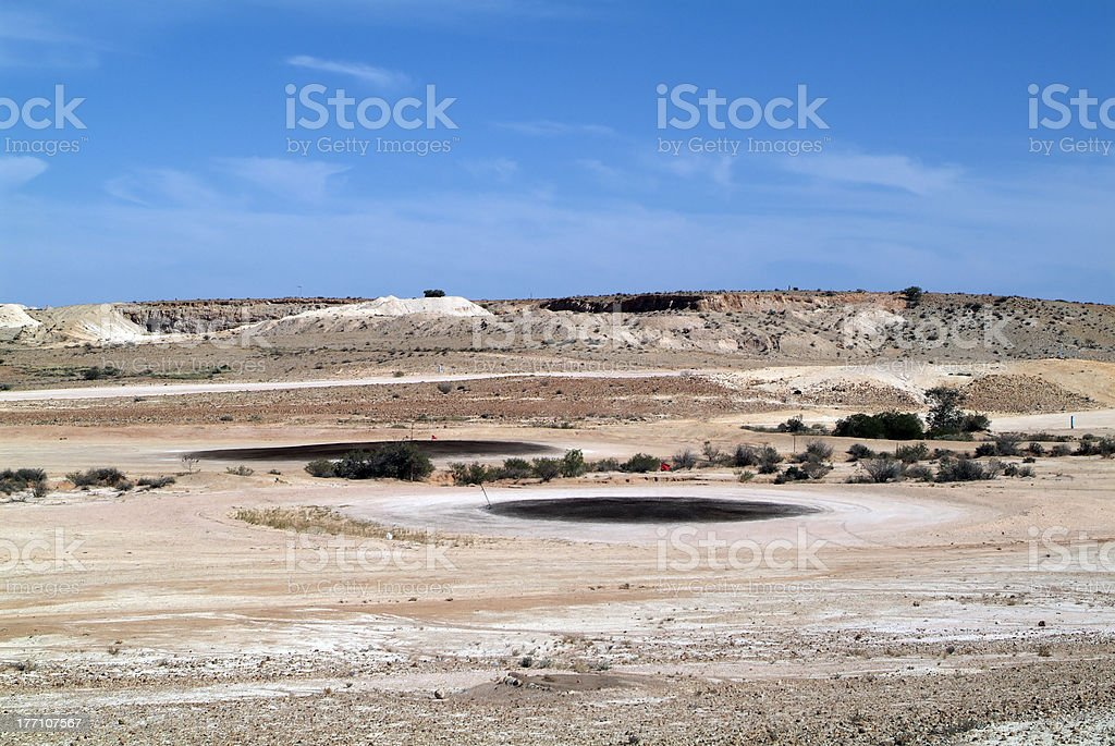 Coober Pedy, South Australia royalty-free stock photo