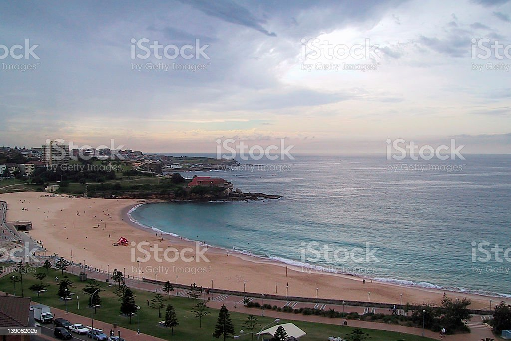 Coogee Beach AU royalty-free stock photo
