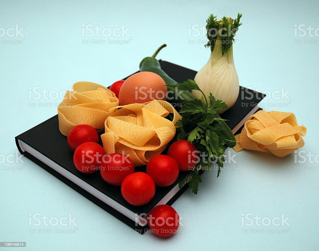 Cook - book royalty-free stock photo