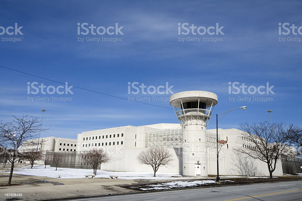 Cook County Jail royalty-free stock photo
