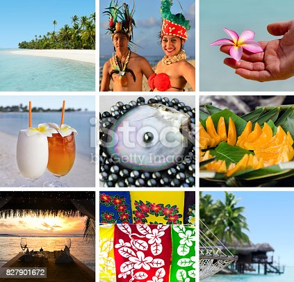 939399010 istock photo Cook Islands collage 827901672