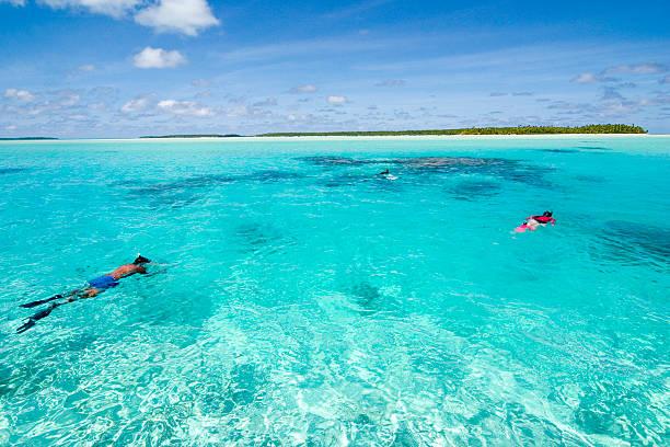 Cook Islands stock photo