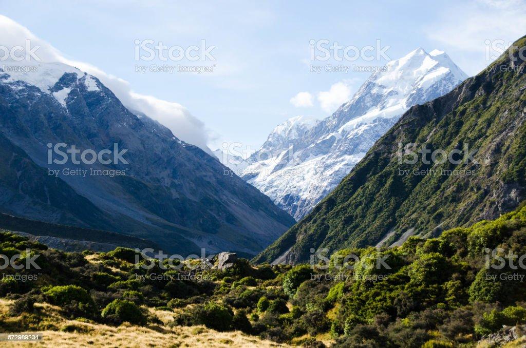 Cook Mountain stock photo