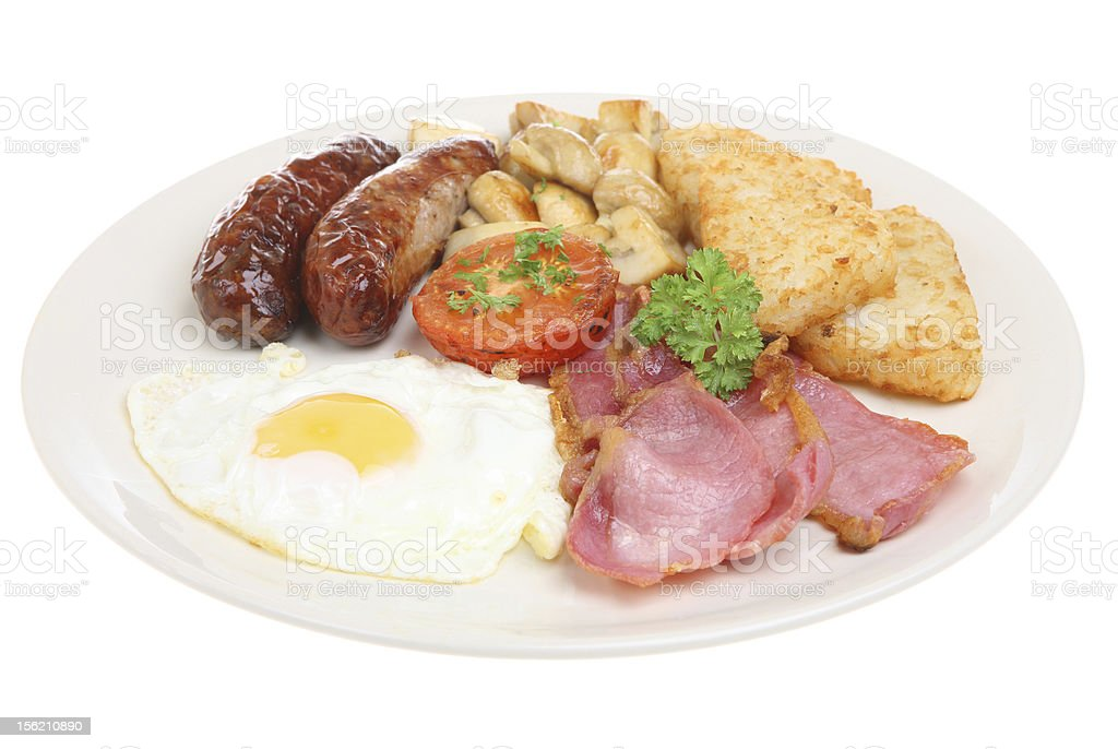 Cooked Breakfast stock photo