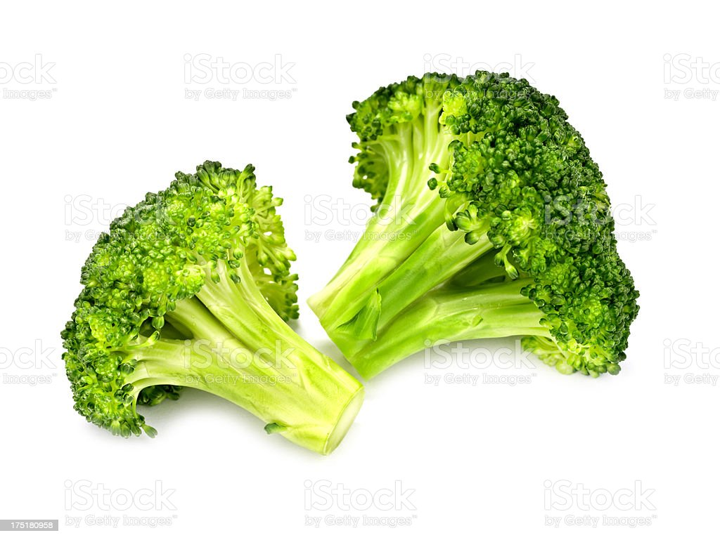 Cooked Broccoli stock photo