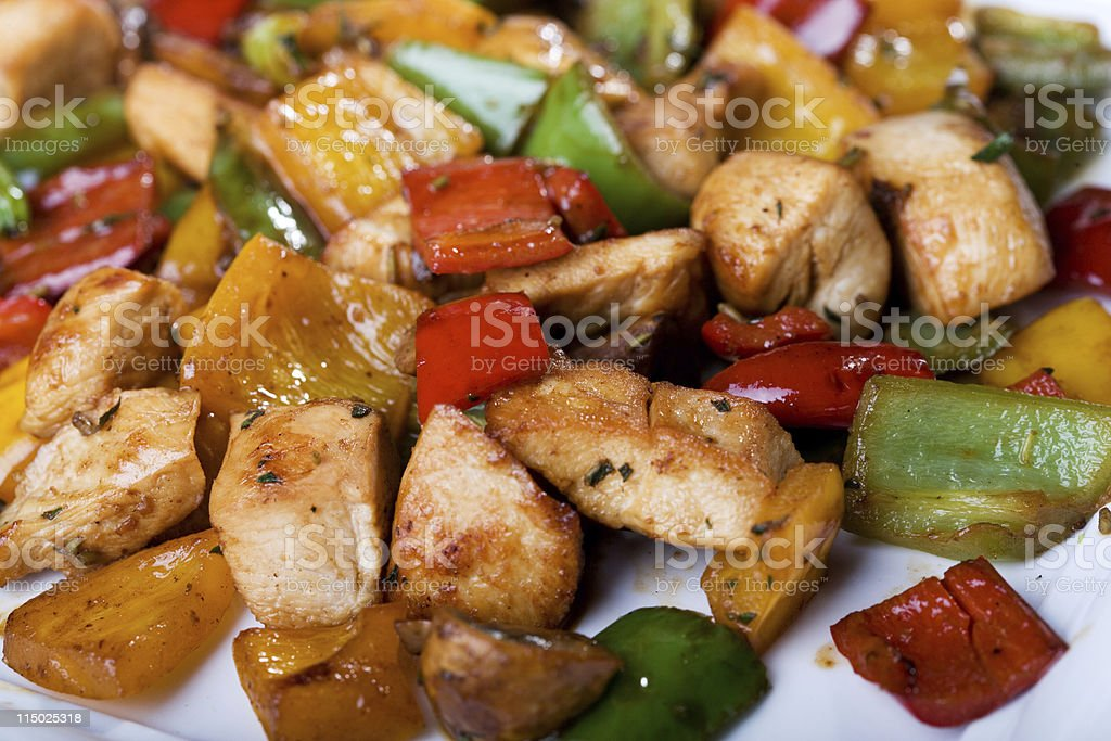 Cooked food stock photo