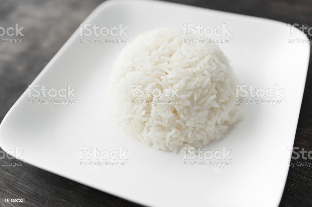 cooked rice royalty-free stock photo