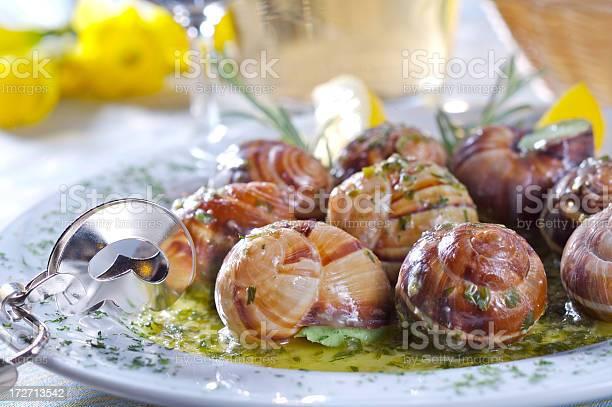 Cooked snails known as escargot with garlic sauce picture id172713542?b=1&k=6&m=172713542&s=612x612&h=ibzjwpx hvs4nhtlqu5swngwrygnx qh8ukzj57xegm=