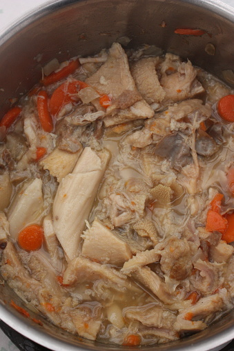 """Cooked tripe   French cooking  """"Mode de Caen"""" cooking recipe"""