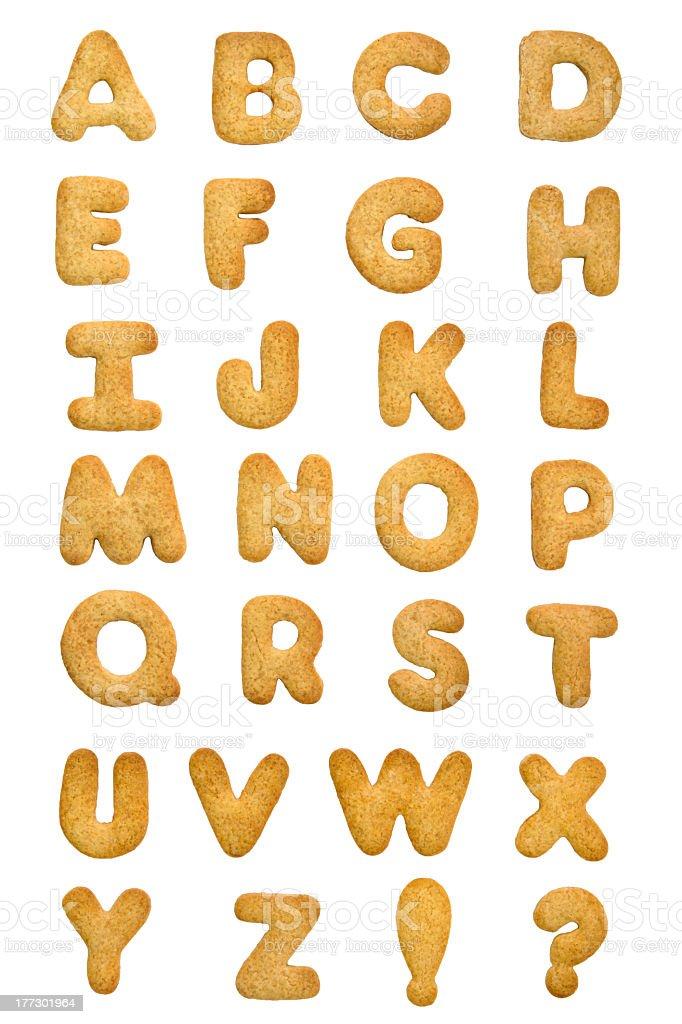 Cookie Lettre de l'alphabet - Photo