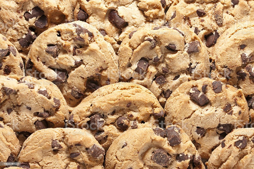 Cookie Background stock photo