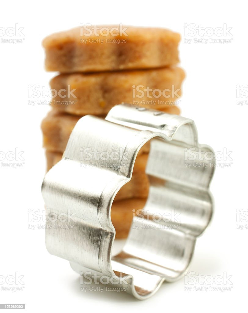 Cookie Cutter - Flower royalty-free stock photo