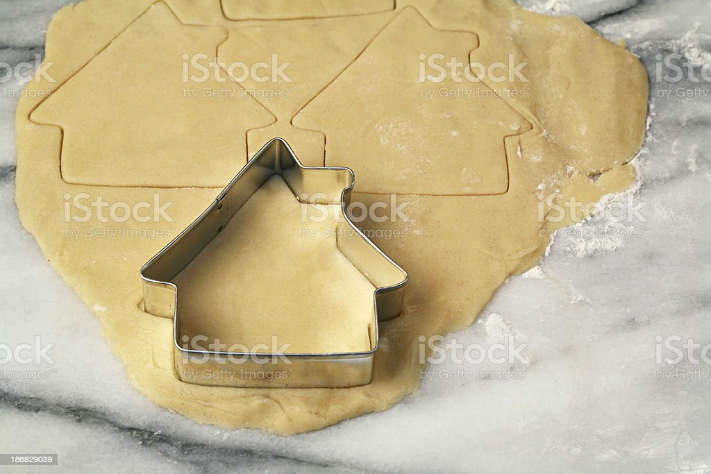 Cookie Cutter House royalty-free stock photo