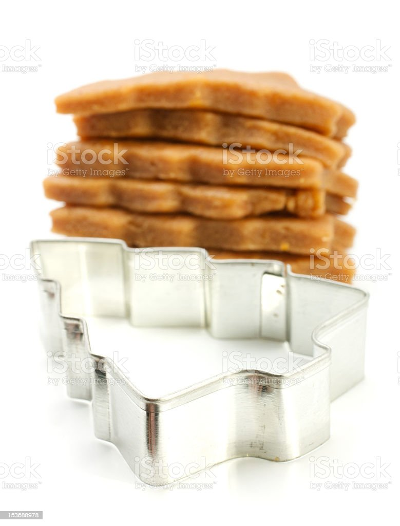 Cookie Cutter - Tree royalty-free stock photo